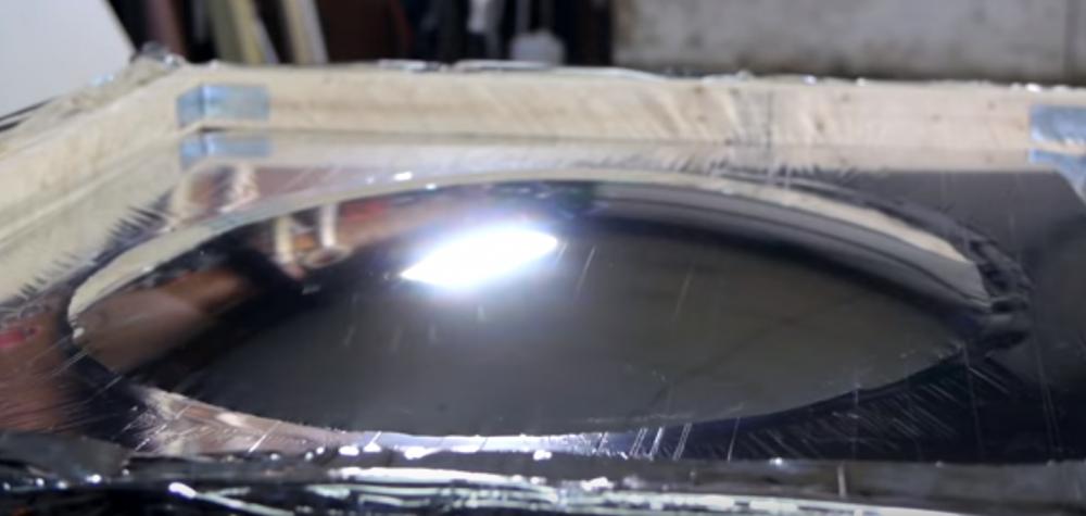 Cómo hacer una cocina solar casera - parábola inflador manta térmica