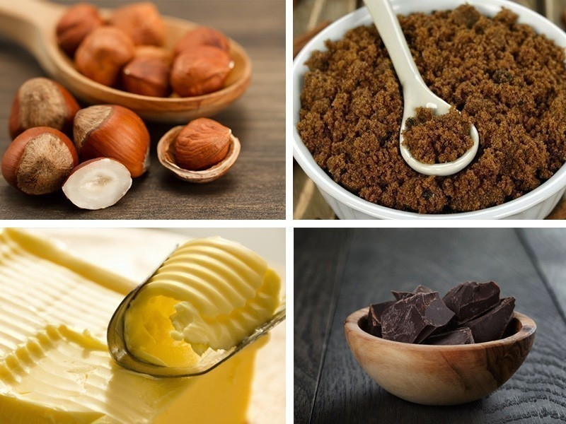 Cómo hacer pasta de avellanas casera- ingredientes