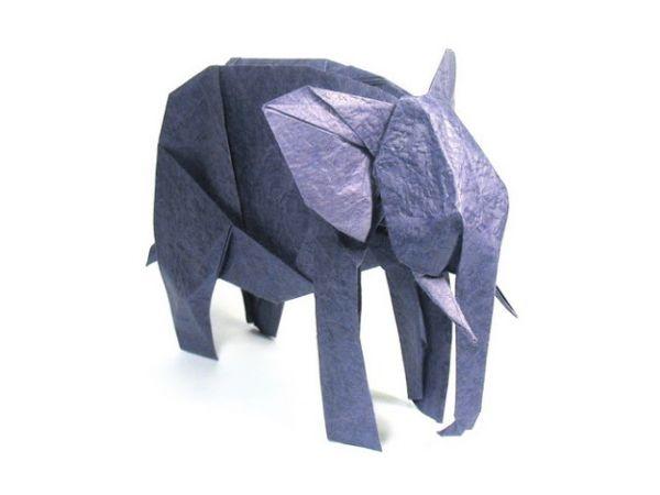 origami elefante 2