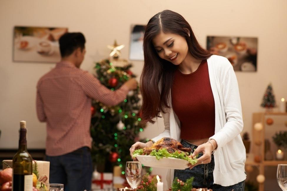 navidad cena sin gastar