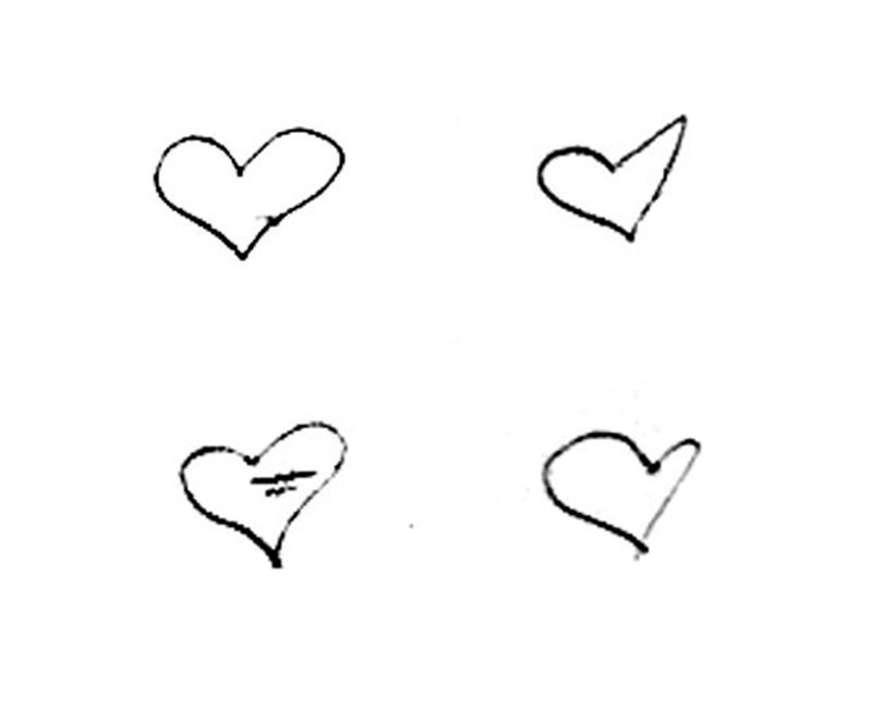 Qué Dice De Ti La Forma En La Que Dibujas Un Corazón