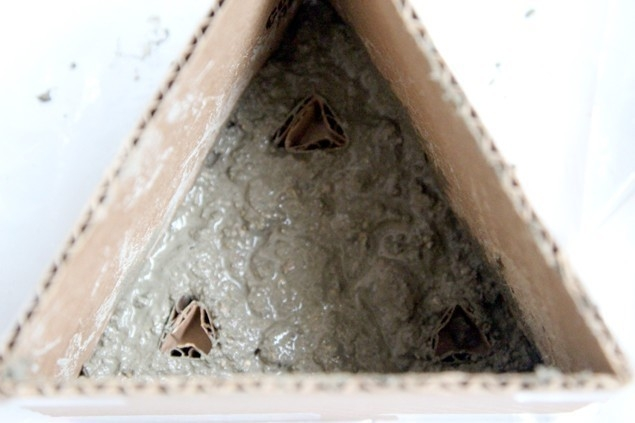 macetas modulares - con suculentas - relleno