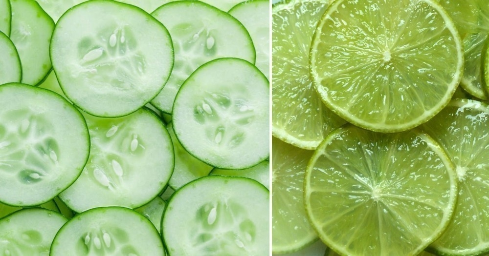 eliminar las manchas de la piel - pepino y limón