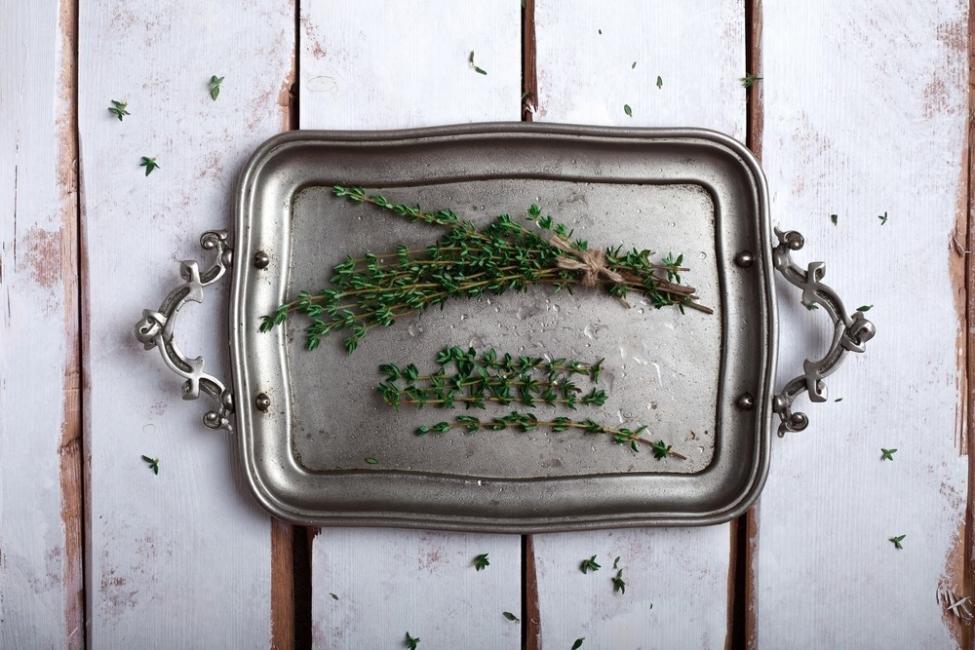 formas de conservar tus hierbas- secar en el horno