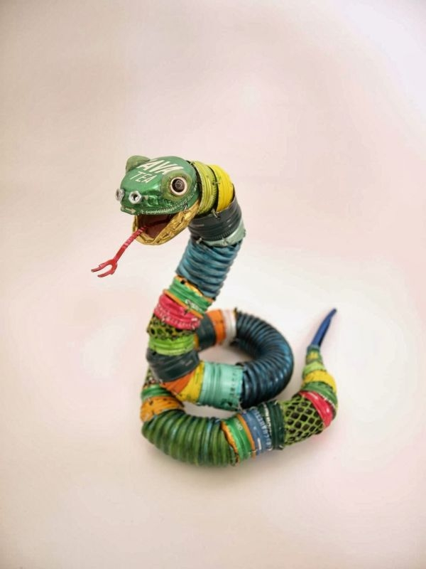 Natsumi Tomita Esculturas Recicladas 13