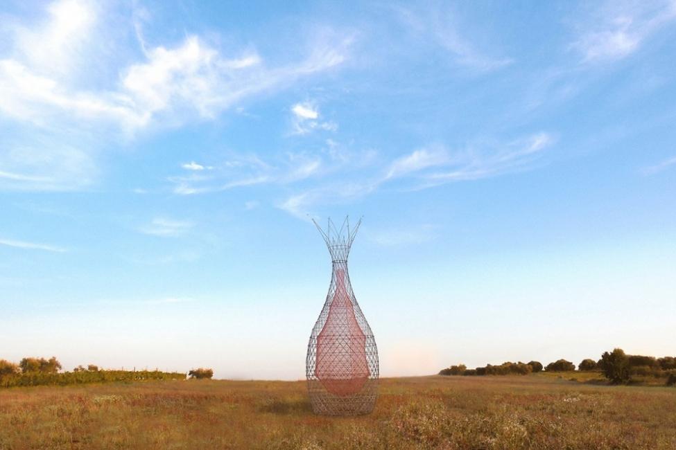 Warka Water - torre de bambú que produce agua - a futuro