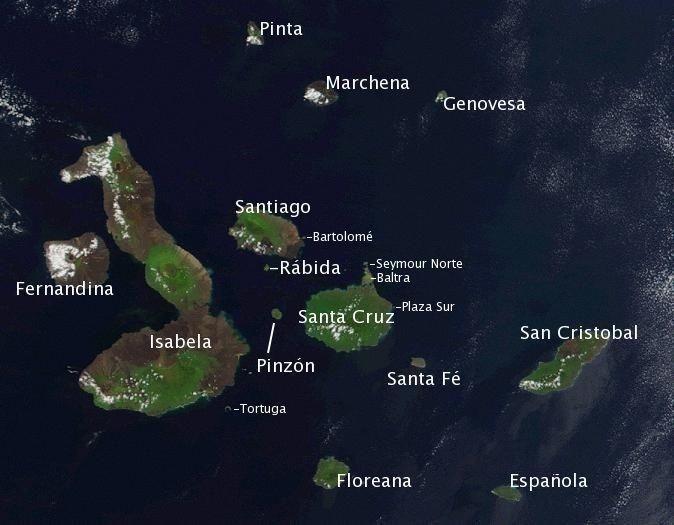 Islas Galápagos,  el archipiélago volcánico mejor conservado del mundo