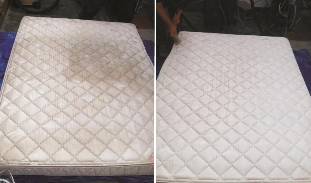 colchón limpio