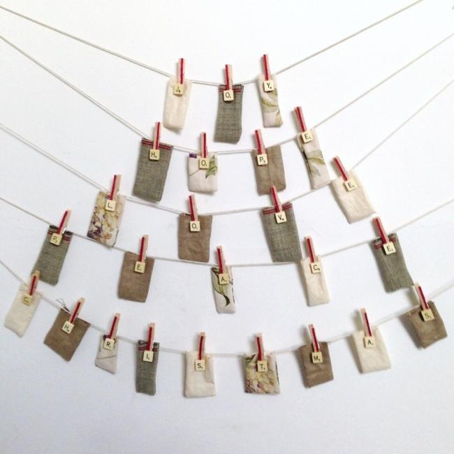 Adorno de navidad de árbol de bolsillos