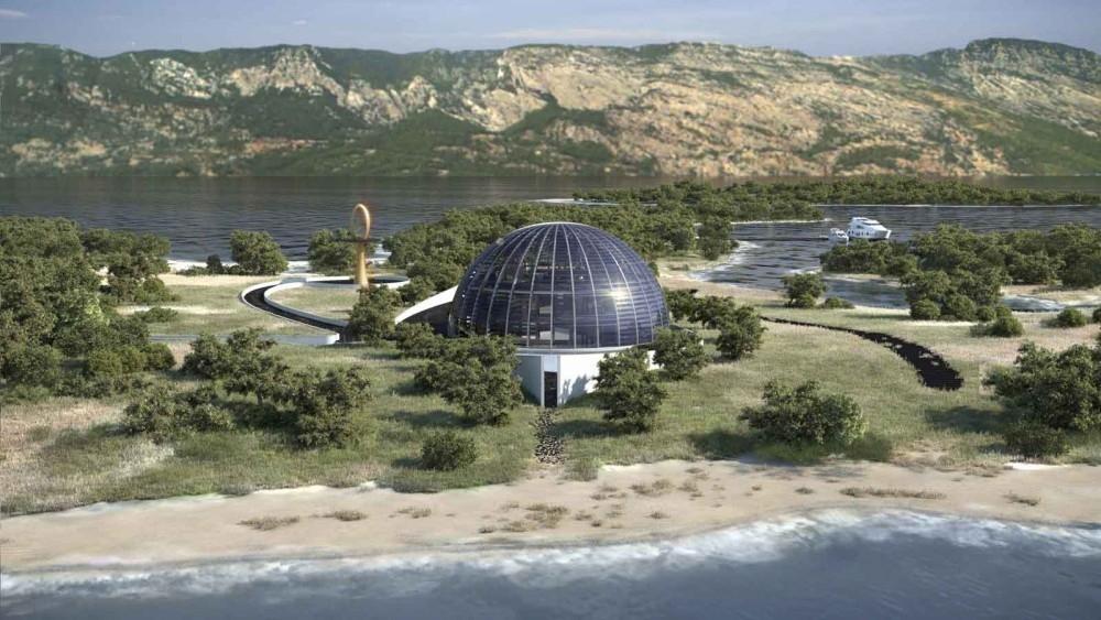 Casa autosuficiente del ojo de horus- arquitectura sustentable