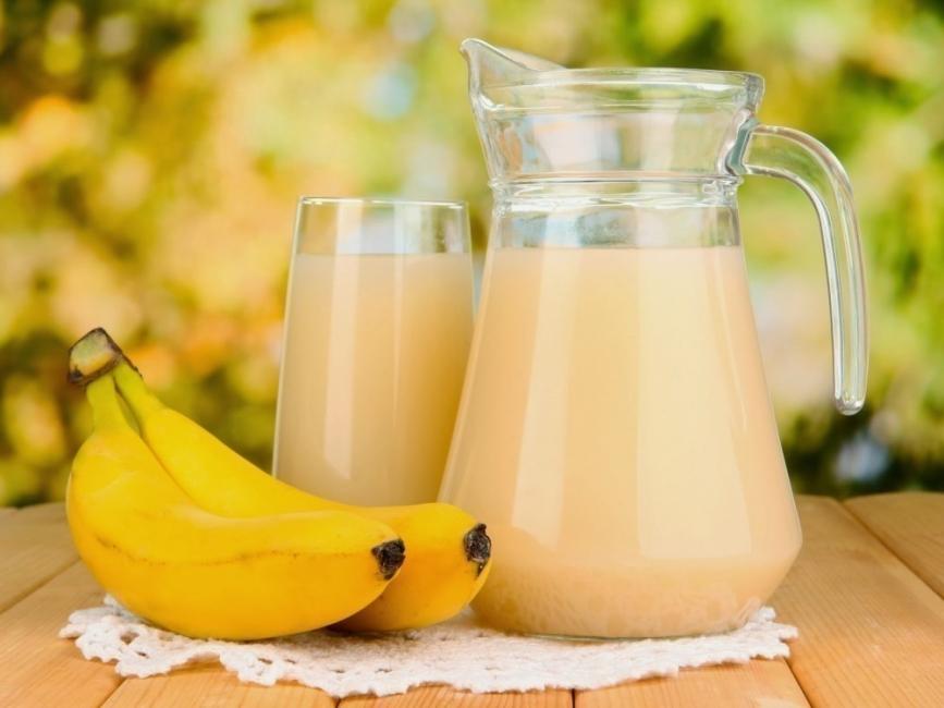 bebidas isotónicas - banana - plátano