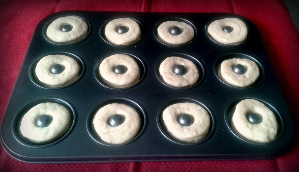 donuts de molde veganas