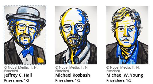 Ganadores del Nobel de Medicina 2017