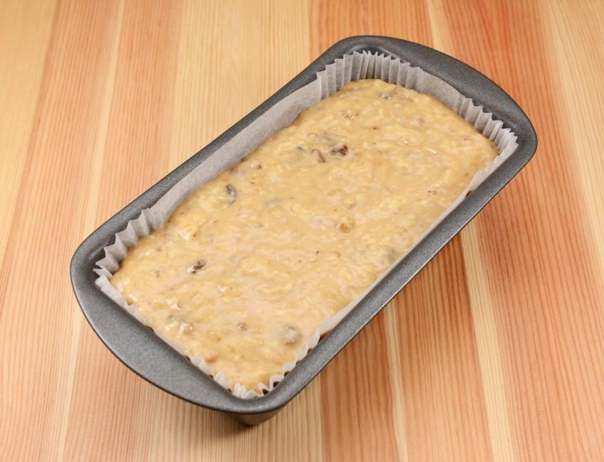 Banana pudding - baking