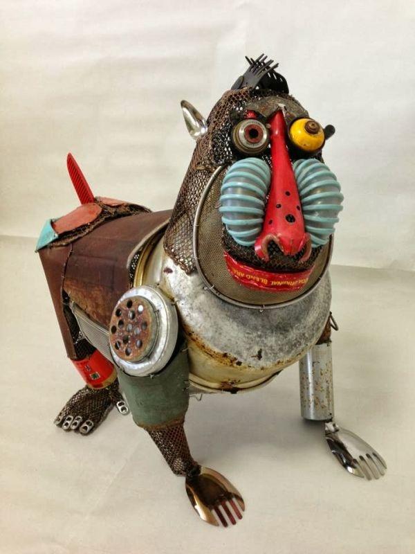 Natsumi Tomita Esculturas Recicladas 7