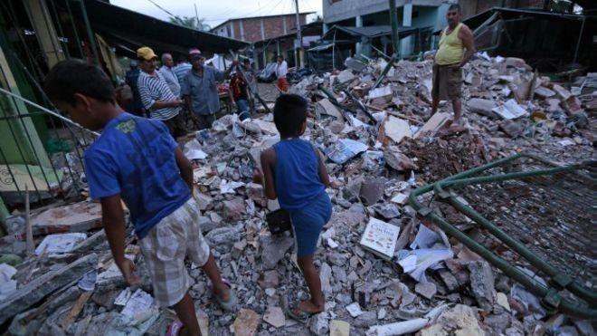 terremoto en Ecuador - ayuda