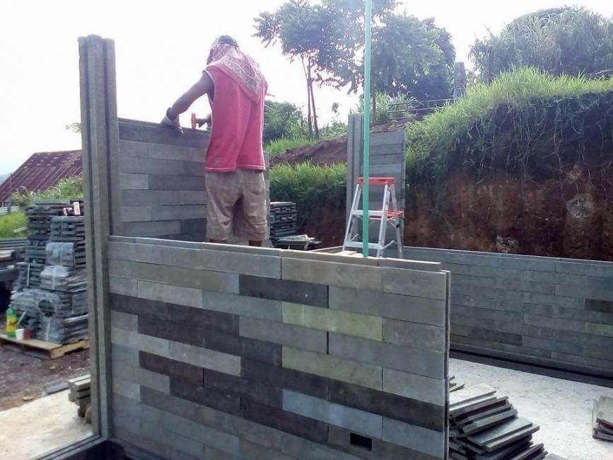 ladrillos tipo LEGO- construcción sustentable