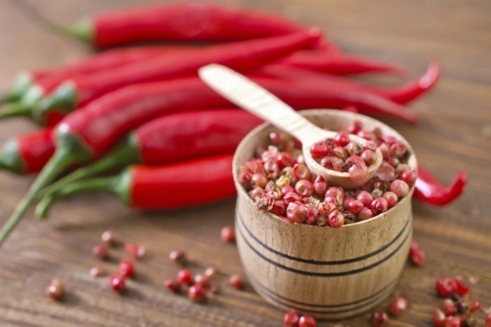 bajar de peso con plantas - pimienta de cayena
