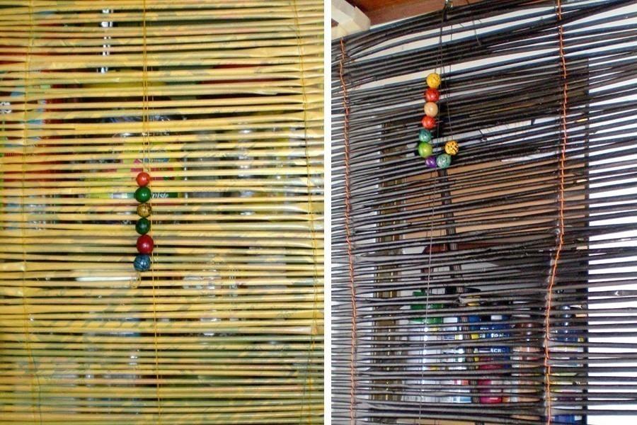 cortina para separar un ambiente de colores