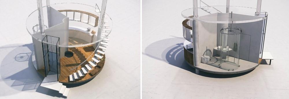 casa del árbol de lujo-diseño