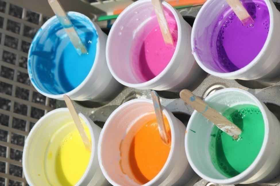 Pintura casera - leche