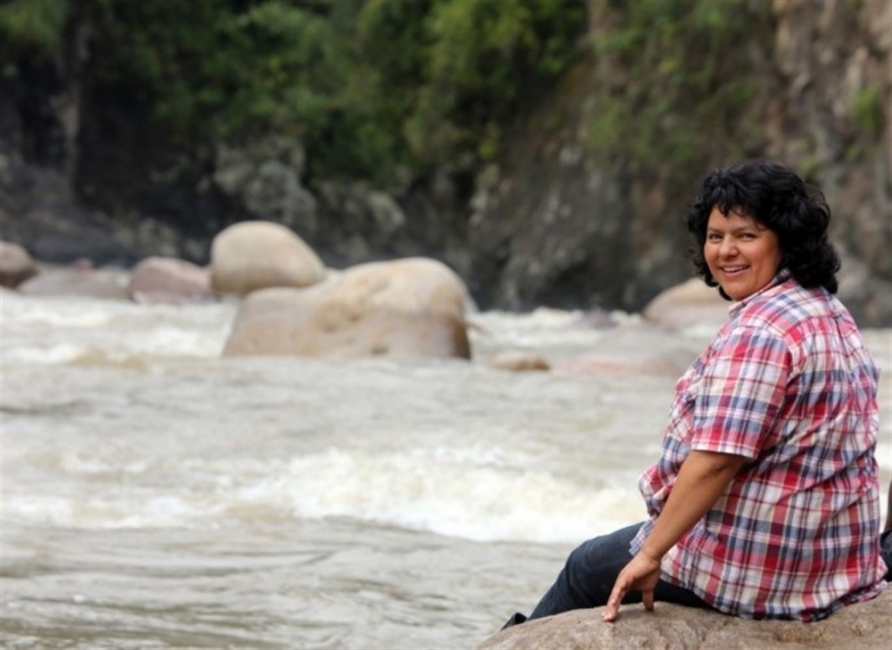 Berta Cáceres, líder ambientalista
