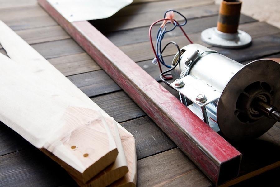 generador eólico casero -materiales